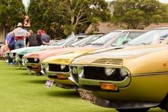 Austrália: Alfa Romeo Spettacolo realizado em Melbourne, o 29 de novembro, Imagem de Stock Royalty Free