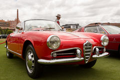 Austrália: Alfa Romeo Spettacolo realizado em Melbourne, o 29 de novembro, Imagens de Stock Royalty Free
