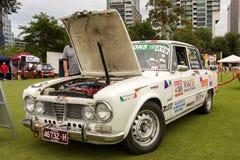 Austrália: Alfa Romeo Spettacolo realizado em Melbourne, o 29 de novembro, Imagens de Stock
