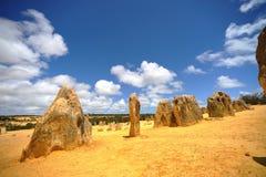 Austrália - deserto dos pináculos Fotos de Stock