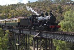 Austrália, estrada de ferro Imagem de Stock
