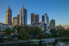 Austrália Melbourne cidade 26 de abril de 2016 fotografia de stock royalty free