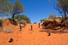 Austrália, montagem Conner Lookout, Território do Norte imagens de stock royalty free