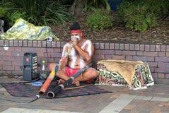 Austrália, NSW, Sydney, aborígene Fotografia de Stock