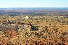 Austrália, NT, interior, coluna das câmaras fotos de stock