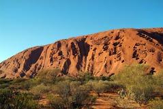 Austrália, NT, rocha de Ayers Imagem de Stock Royalty Free