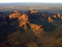 Austrália - o Olgas Fotografia de Stock