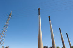 Austrália Ocidental da central eléctrica de Kwinana Fotos de Stock Royalty Free