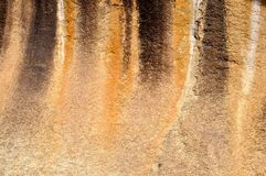 Austrália Ocidental da rocha da onda Foto de Stock Royalty Free