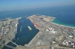 Austrália Ocidental de Perth do porto de Fremantle imagem de stock royalty free