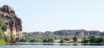 Austrália Ocidental do desfiladeiro de Geiki Fotos de Stock Royalty Free