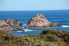 Austrália Ocidental sul da rocha do naco do açúcar Fotos de Stock Royalty Free