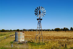Austrália, roda de vento Foto de Stock