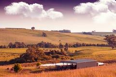 Austrália rural cênico Fotos de Stock