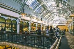 Austrália Sydney Queen Victoria Building Interior imagens de stock royalty free
