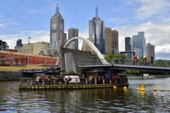 Austrália, Victoria, Melbourne foto de stock