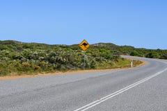 Austrália, WA, cruzamento animal foto de stock