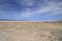 Austrália, WA, Saltlake foto de stock royalty free