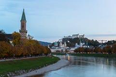 Austrain city Salzburg Royalty Free Stock Photography