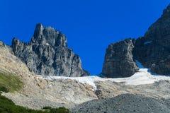 Austral Anden Cerro Castillo stockbilder