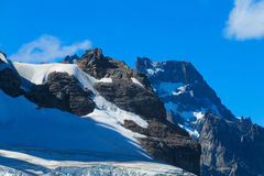 Austral Anden Cerro Castillo lizenzfreie stockfotos