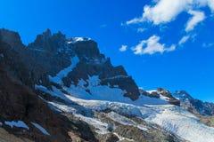 Austral Andes Cerro Castillo range royalty free stock photography
