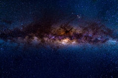 The austral Milky Way Royalty Free Stock Photos