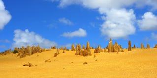 Australië: De woestijn van toppen stock foto
