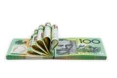 Australië honderd dollars Stock Foto's