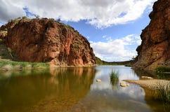 Australië, Noordelijk Grondgebied, de Waaier van McDonnell stock foto