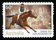 AUSTRALIË - postzegel Stock Foto