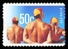 AUSTRALIË - postzegel Royalty-vrije Stock Foto's