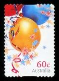 AUSTRALIË - postzegel royalty-vrije stock afbeelding