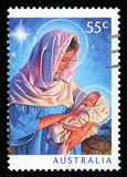 AUSTRALIË - postzegel stock fotografie