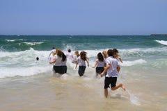 Australië, Queensland: School uit! Stock Afbeeldingen