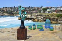 Australië, Sydney, Kunstwerk stock afbeelding