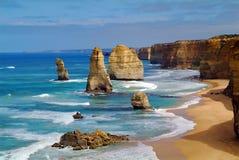 Australië, Twelfe-Apostelen stock afbeelding