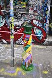 Australië, Victoria, Melbourne, Street Art royalty-vrije stock foto