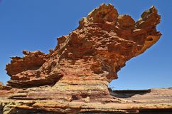 Australië, WA, het Nationale Park van Kalbarri royalty-vrije stock fotografie