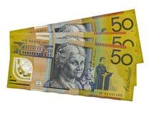 Australiër $50 die Edith Cowan kenmerkt Stock Fotografie