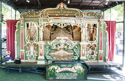 Australi jarmarku organ Obraz Royalty Free