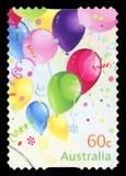 AUSTRALI? - postzegel stock afbeelding