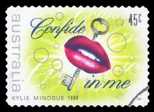 AUSTRALI? - postzegel royalty-vrije stock foto's