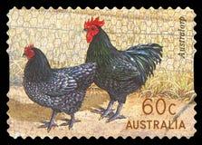 AUSTRALI? - postzegel stock foto