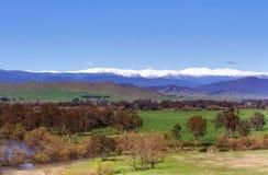 Australia highest mountains stock image