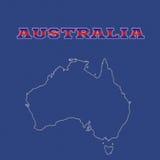 Australia stock de ilustración
