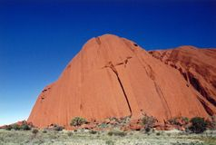 Australia. Ayers-rock Stock Images