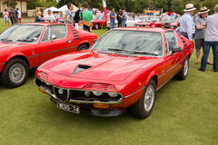 Australia: Alfa Romeo Spettacolo held in Melbourne, November 29,. The  Alfa Romeo Owners Club of Australia hosted the Alfa Romeo Spettacolo, an annual high-end Stock Image