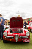 Australia: Alfa Romeo Spettacolo held in Melbourne, November 29,. The  Alfa Romeo Owners Club of Australia hosted the Alfa Romeo Spettacolo, an annual high-end Royalty Free Stock Image