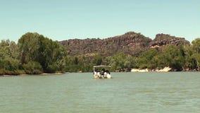 Australia, aligator rzeka, Kakadu park narodowy, widok rzeka podczas nawigaci zbiory
